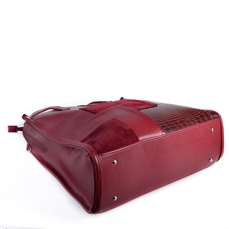Женская сумка М102-93/замш/37