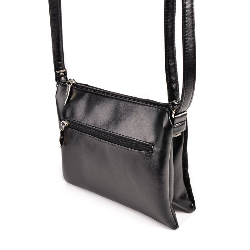 Женская маленькая сумка-шанель М105-Z/замш