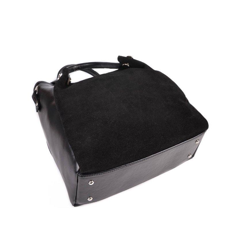 Женская сумка из кожзама и замши М130-Z/замш