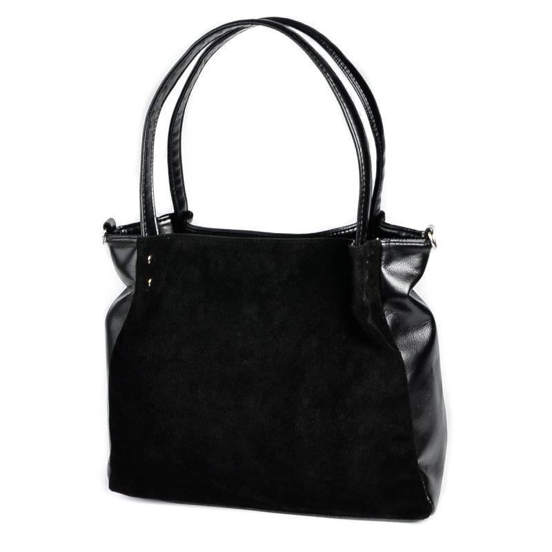 Женская сумка из натуральной замши М166-27/замш