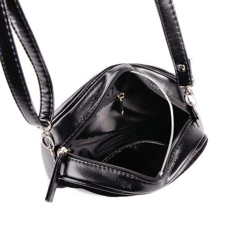 Мини-сумочка круглой формы М174-Z/замш