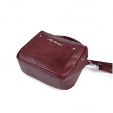 Сумка-чемоданчик М181-93/замш