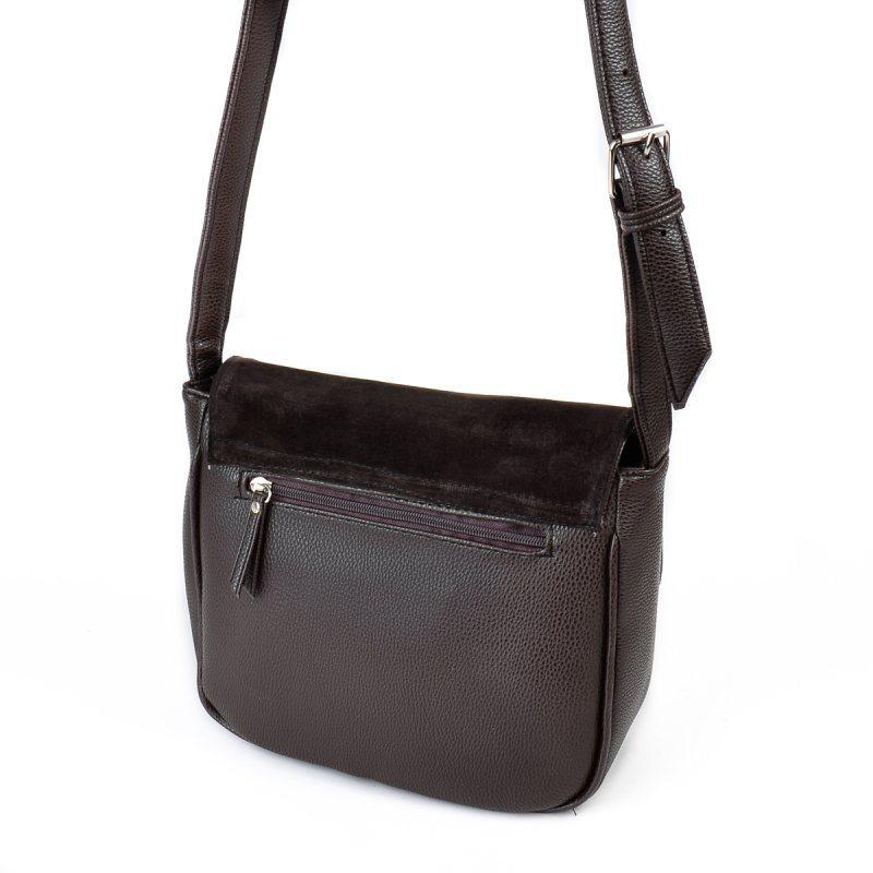 Замшевая сумка кросс-боди М52-40/замш