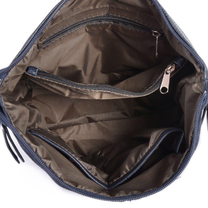 Женская замшевая сумка через плечо М78-замш/39