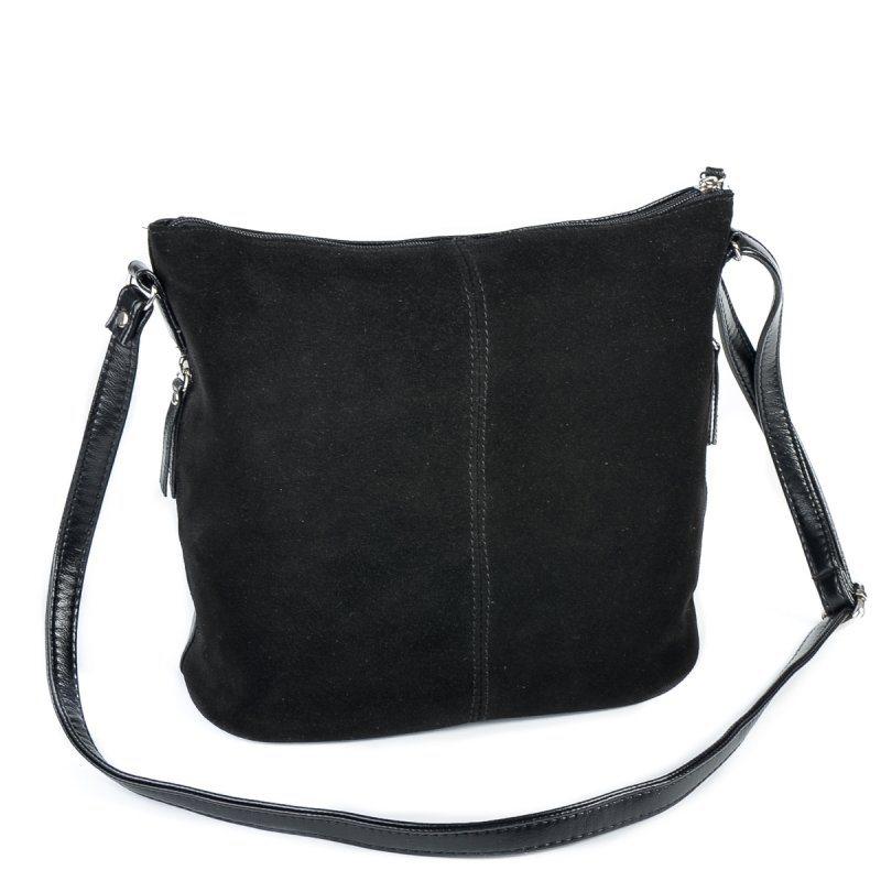 Женская замшевая сумка через плечо М78-замш/Z