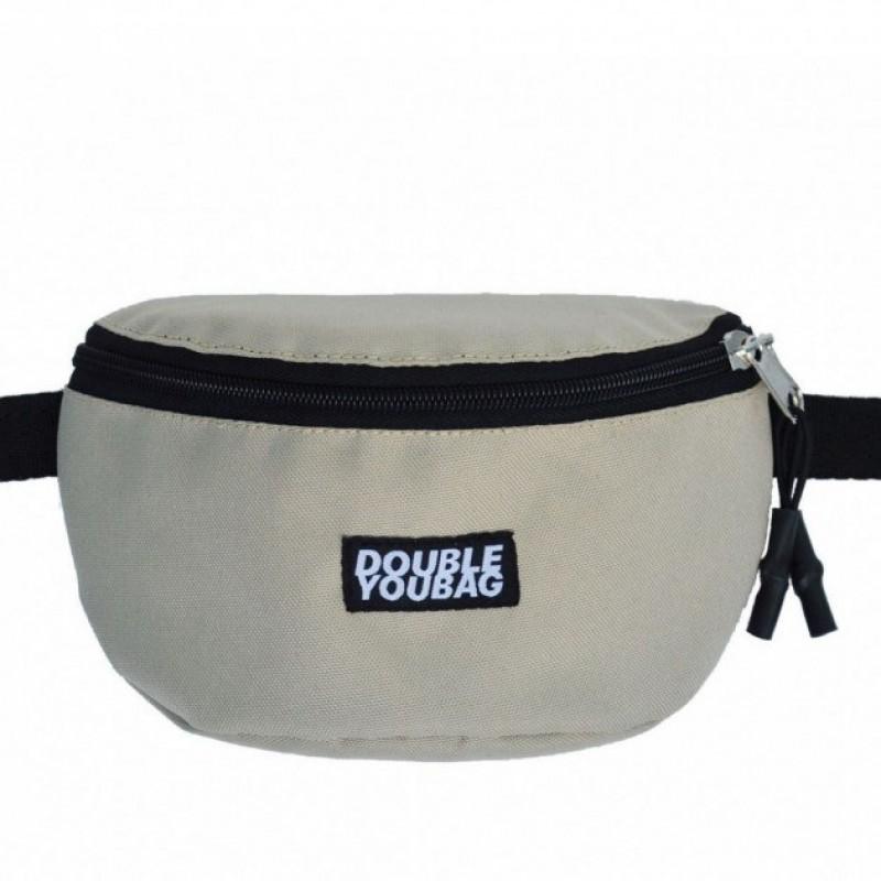 Поясная сумка DoubleYouBag BEIGE HIPBAG (SMALL)