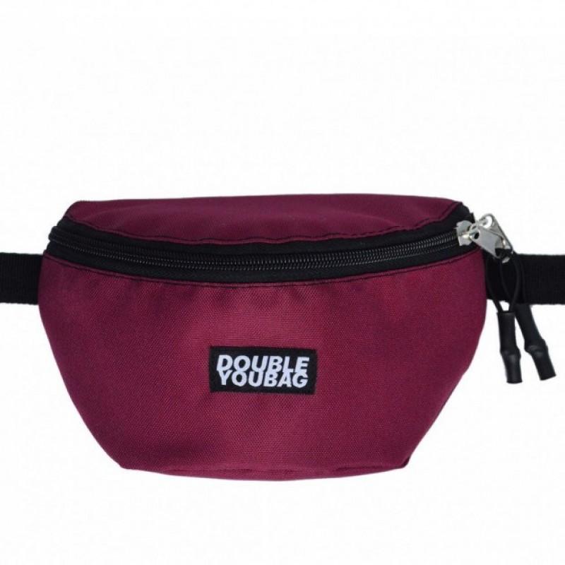 Поясная сумка DoubleYouBag BURGUNDY HIPBAG (SMALL)
